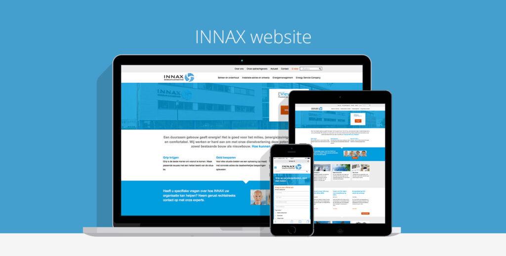 INNAX gebouw en omgeving website