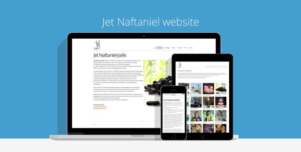 Jet Naftaniel Joels Kunstenares Website
