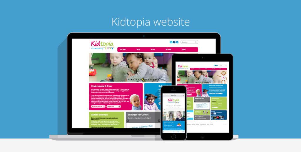 Kidtopia Responsive Webdesign