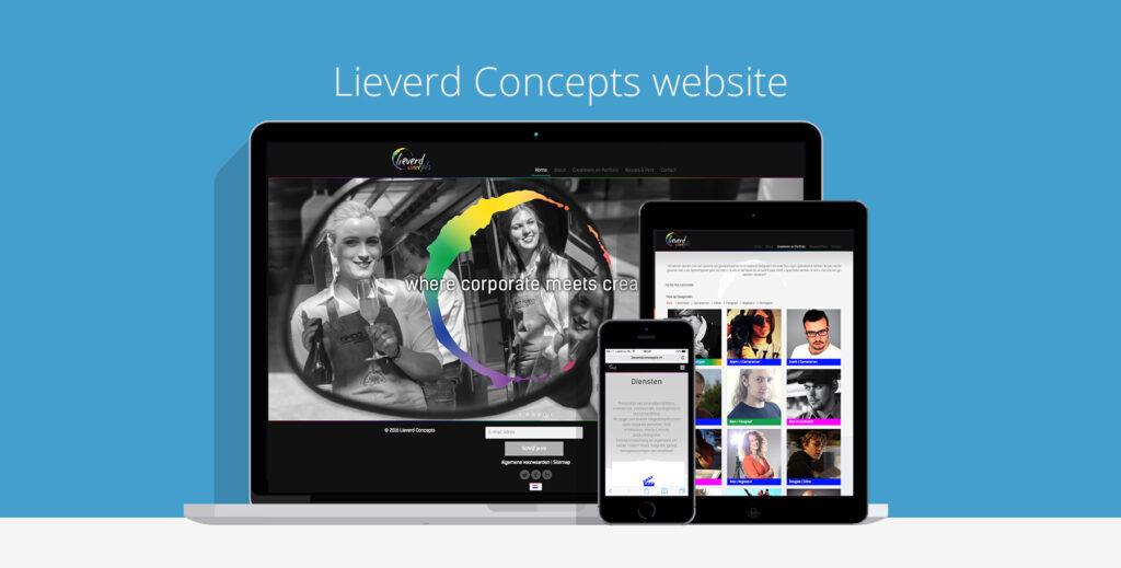 Lieverd Concepts Webdesign