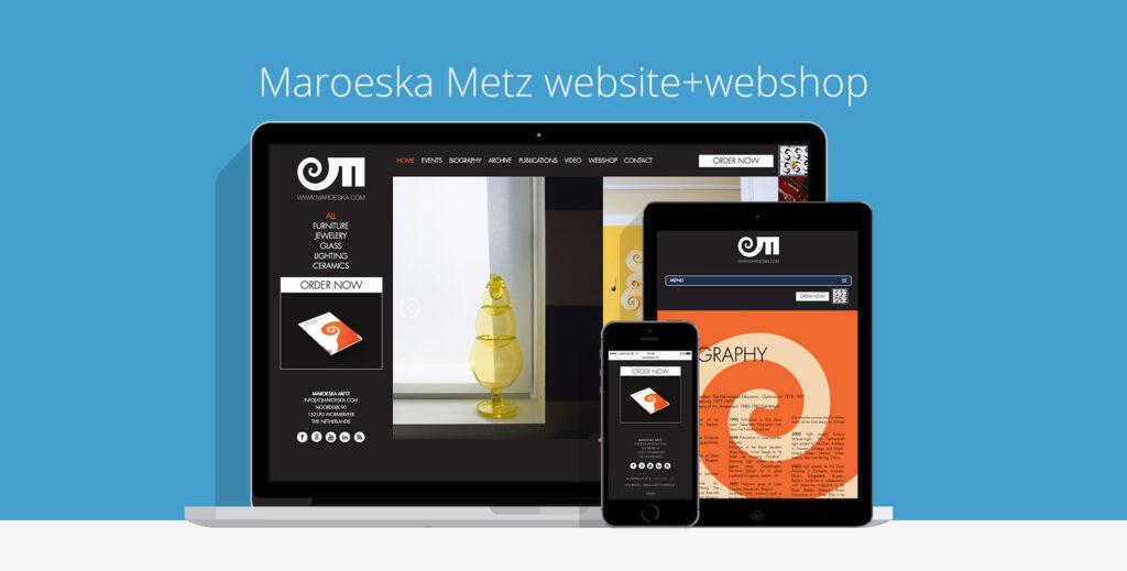 Maroeska Metz Website Webshop