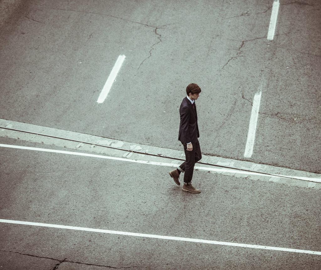 Een eenzaam bestaan zonder klanten