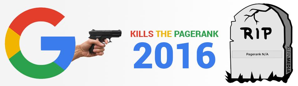 Google PageRank 2016 Offline RIP